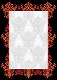 vintage template frame