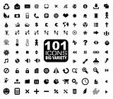101 Icons Collection - General. Internet, Mulstimedia, Financial and more