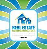 Real Estate Background for Brochure of flyers