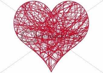 chaos heart, vector