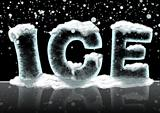 "The word ""Ice"""