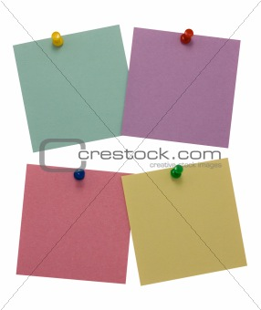 Four paper for notes