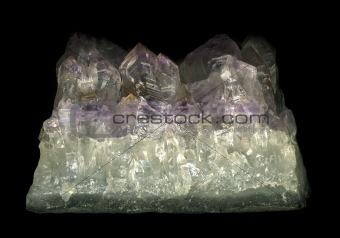 raw crystal, Close up
