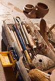 Tools for forming clay