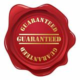 Guaranteed wax seal.