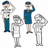 Army Cartoon People