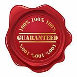 Guaranteed wax seal.