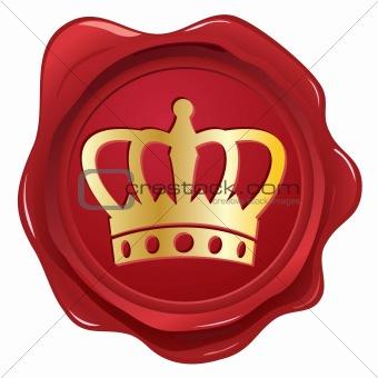 Crown wax seal.