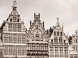 Old houses in Antwerpen
