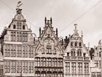 Old houses in Antwerpen
