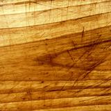 Closeup scratched wood