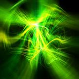 Dynamic spark abstract background