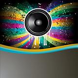 Rainbow Colorful Discotheque Event Flyer