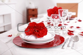 Fine place setting