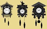 Cuckoo Clocks set