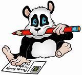 Panda and Postcard