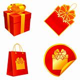 Gift elements.