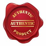 Authentic wax seal stamp