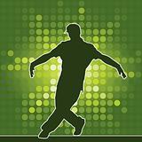 dancing silhouette, breakdance