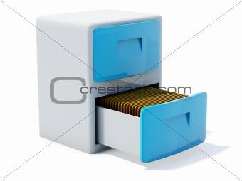Blue archive icon