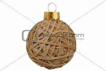 Christmas Rubberband ball