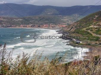 Sardinia Coast in summer, Italy