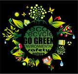 Environment and Eco Background for Green Flyers