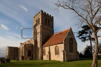 Old Church in Northamptonshire England