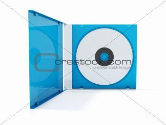 Blue cd box