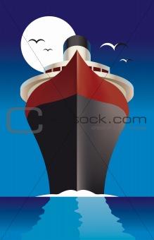 Cruise Liner Passenger ship