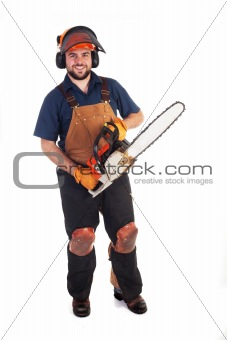 Chainsaw Worker