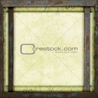 Framed canvas background