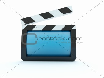 3d glossy movie icon