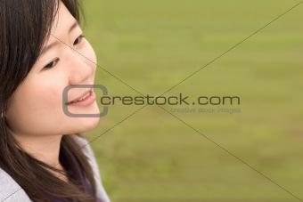 Smile happy woman
