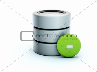3d delete storage icon