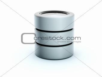 3d storage icon