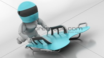 skeleton bobsleigh