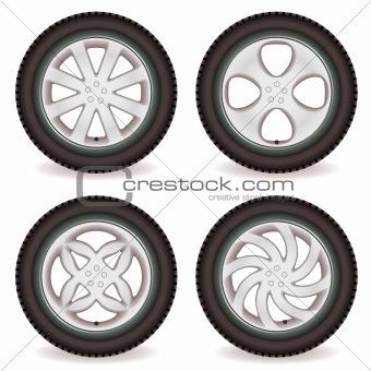car wheel collection