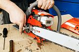 Chain saw repair 1