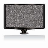 LCD tv static