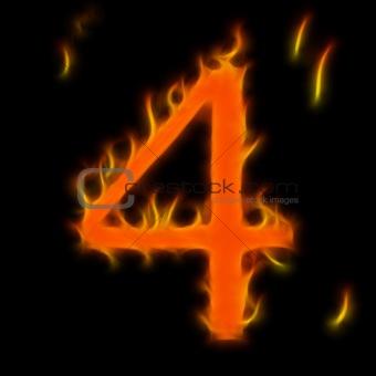 Abstract symbol of alphabet
