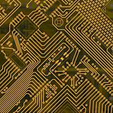 Abstract electronic industrial circuit board background