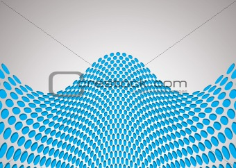 wave bulge background