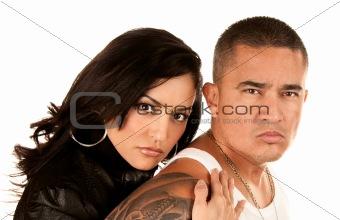Tough Hispanic Couple