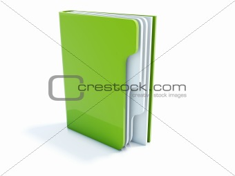 Green notebook icon