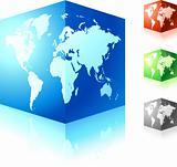 cubic globe set