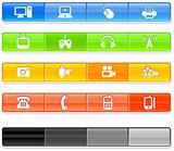 Bar Technology Icons