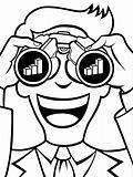 Profit Forecasting Line Art