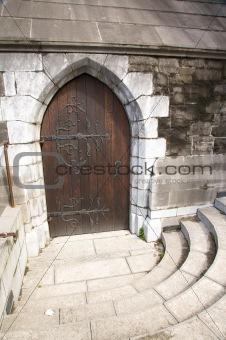 ancient decorate door