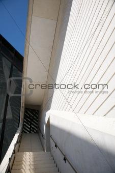 crystal door and wall